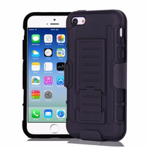 Funda Clip Uso Rudo Iphone 4 / 4s / 5 / 5s / 6 / 6s / 6 Plus