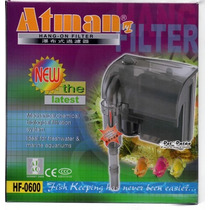 Atman Hf-600 Filtro Externo Hangon 127v - Un