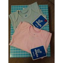Almillas Ovejita Camiseta Franelillas Bebe Unicolor