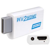 Wii2hdmi Adaptador Hdmi Nintendo Wii Full Hd Pronta Entrega