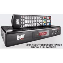 Receptor Analógico Digital Hd Bs9100 Canais Via Satélite