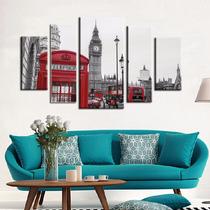 Londres Bastidor En Tela Canvas 120x80 Envio Gratis.