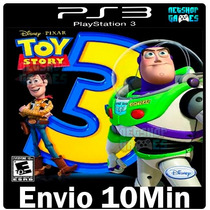 Toy Story 3 The Video Game [** Playstation3 Ps3 Psn **]