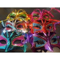 12 Antifaz Plastico Fiestas Boda Batucada Antro Baile Mod 2