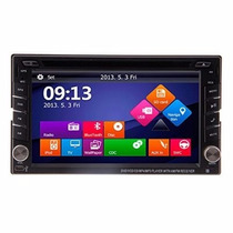Central Multimidia Dvd 2 Din Universal Gps Bluetooth+cam Ré