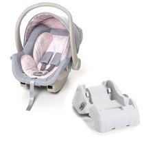 Bebê Conforto Galzerano Cocoon Com Base - Cinza Rosa
