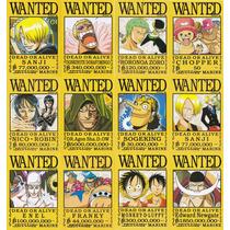 Coleccion De Arte Visual De One Piece Wanted Mod1 12 Cromos