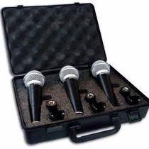 Microfono Samson R21 Cardioide 3 Unidades Estuche Y Pipetas