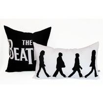 Cojín Decorativo Beatles Personalizado Sala O Recámara