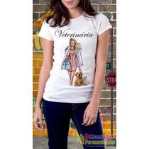 Camiseta Personalizada Profissões Veterinária