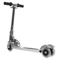 Monopatin Scooter 3 Ruedas C/luces Aluminio Reforz.+bolso!!!