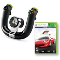 Volante Inalámbrico Xbox 360 Original & Forza Motorsport 4