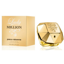 Edp Paco Rabanne For Her Lady Million 80ml