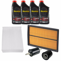 Kit Revisao Filtro Cabine Oleo Combustivel Corsa 2002 2012