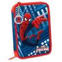 Cartucheras 2 Pisos Hombre Araña Spiderman - Mundo Manias