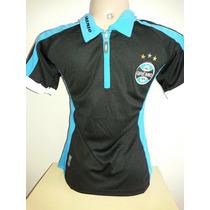 Camiseta Baby Look Feminina Time Grêmio Frete Grátis