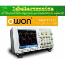 Osciloscopio Digital Owon Touch Screen Tds8204 200mhz 4ch
