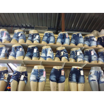 Kit Com 20 Shorts Jeans Feminino,