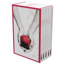 Saga Crepúsculo - Box Coleção Caixa Especial Com 5 Livros