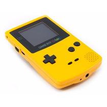 Game Boy Color Yellow Zero Novo