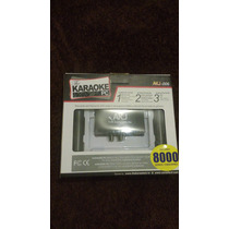 Mezclador Karaoke Para Pc, 2 Microfonos Y 8,000 Pistas