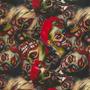 Calaveras - K25 - Zombie Girls - Ancho 1m
