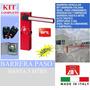Motor Porton Corredizo Barrera Vehicular Bft6m Kit Completo