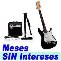 New Kit Guitarra Electrica Profesional Mas Accesorios Xaris.