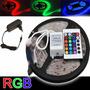 Fita Led Rgb 5m Super Led ! Controle Remoto ! Fonte