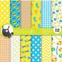 Kit Imprimible Pack Fondos Verano Sol Playa 3 Clipart