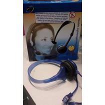 Microfono Auricular Vincha Para Pc Notebook Celular