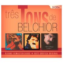 Cd Box Belchior - Três Tons (2016) Lacrado