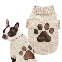 Sweater Tejido Perro Grande Ropa Cuidado Salud