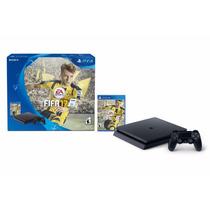 Playstation 4 Ps4 Slim 500g + Fifa 17 Gtia Local! Fact A-b