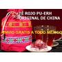 Té Rojo Pu-erh Original De China Importado, Paquete De 4