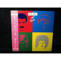 Vinilo Lp Queen - Hot Space - Japones Obi