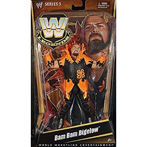 Coleccionable Wwe Legends Bam Bam Bigelow Collector Figure