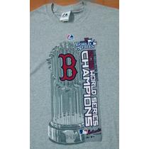 Playera Majestic Boston Red Sox Champions 2013 Mlb Adulto M