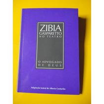 Livro Teatro O Advogado De Deus, Zibia Gasparetto