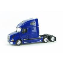 1:53 Tracto Camion Volvo Vnl670 Azul Tonkin Trailer