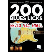Video Aula 200 Guitar Licks De Guitarra Blues