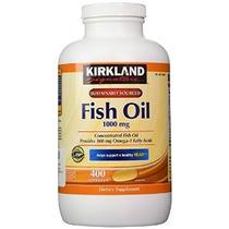 Kirkland Signature Omega-3 Aceite De Pescado Concentrado 400