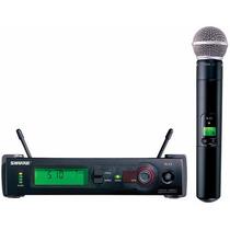 Microfone Sem Fio Shure Slx24 Beta58a Frete Grátis.