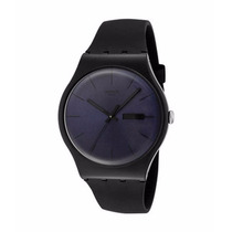 Relogio Masculino Swatch Suob702 Black Rebel Preto Original