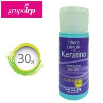 Tonico Capilar Con Keratina Reparador Intenso Color Plus 30g
