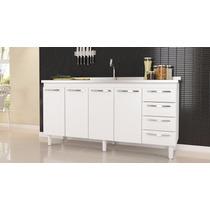 Gabinete De Cozinha Quality P/pia 1.20 2 Porta - Cozimax