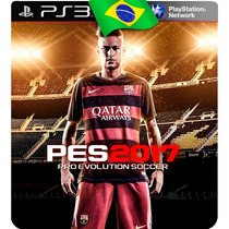 Pes 2017 Ps3 Psn Digital Pré-venda