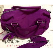 Cartera Kipling Original 100% Color Morado