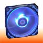 Cooler 120mm Pwm 2200rpm Id-cooling Leds Azul Antivibracion