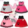Vestidos Para Niña Iancarol Con Motivo Bordado Minnie Mouse
